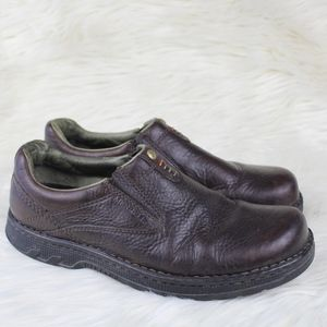 Merrell Mens Stollen Slip On Leather Casual Shoes